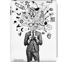 analogue thought in the time of digital mayhem iPad Case/Skin