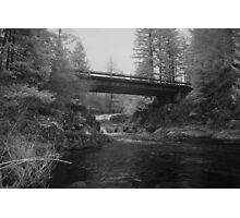 Bridge Over Dougan Falls Photographic Print