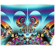 Giant Peacock Moth  (FSK3853) Poster