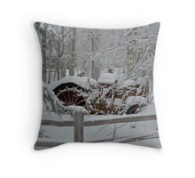 Things left Behind Throw Pillow