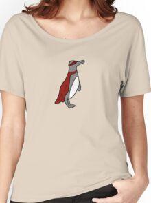 Penguin superhero Women's Relaxed Fit T-Shirt