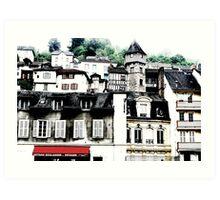 Tulle - France Art Print