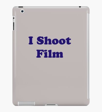 I Shoot Film iPad Case/Skin