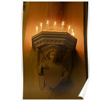 Corbels and Candles Poster