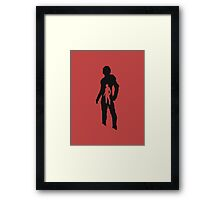 ant-man shadow double Framed Print