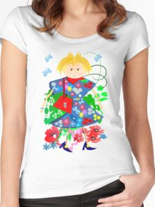 Spring doll Women's Fitted Scoop T-Shirt