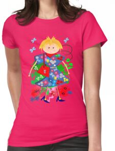 Spring doll Womens Fitted T-Shirt