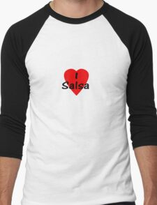 Dance - I Love Salsa T-Shirt & Top Men's Baseball ¾ T-Shirt
