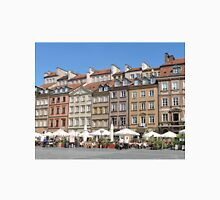 Old Town Market Square, Warsaw Unisex T-Shirt