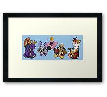 Punk Rock Gaming Framed Print