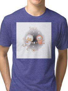 Space love. Tri-blend T-Shirt