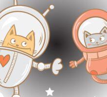 Space love. Sticker