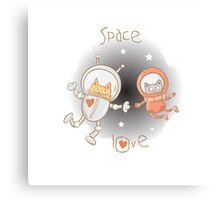 Space love. Canvas Print