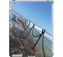 Newcastle Ocean Baths Chain iPad Case/Skin