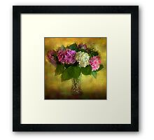 A touch of Summer Framed Print