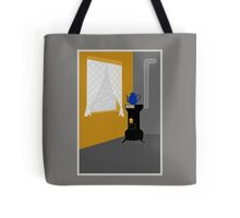 Cosy room with oven. Tote Bag