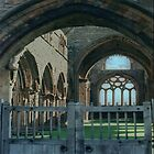 An Impression of Sweetheart Abbey by Larry Davis