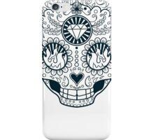 Calavera Skull XXXXIII iPhone Case/Skin