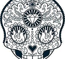 Calavera Skull XXXXIII by viSion Design