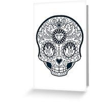 Calavera Skull XXXXIII Greeting Card