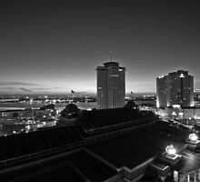 Morning Looking Over The River, New Orleans LA USA by GJKImages
