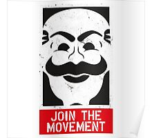 Join The Movement Poster