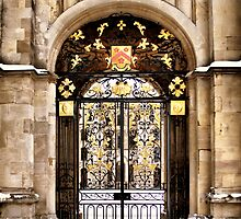 All Souls' College Gate by Karen Martin