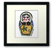 Babushka Doll  Framed Print