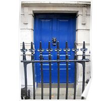 Doors of Europe-London Poster
