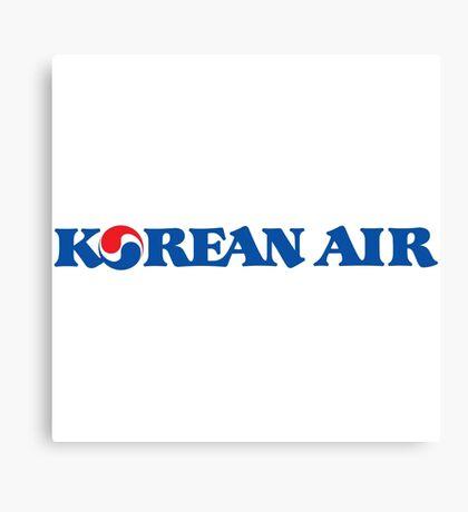 Korean Air Canvas Print