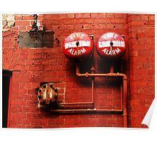 Fire Fire....alarm alarm Poster
