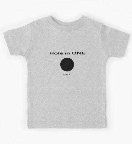 Golf - Hole in One - Sock! T-shirt Kids Tee