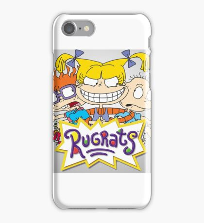 Rugrats - Angelica, Chuckie and Tommy iPhone Case/Skin