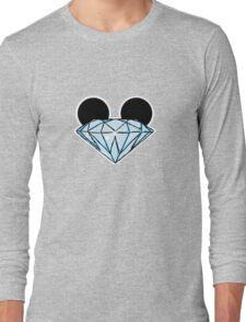 Diamond Ears Color Long Sleeve T-Shirt