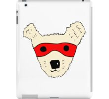 Superhero dog iPad Case/Skin