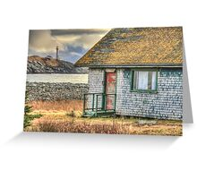 Schoolhouse and Lighthouse Greeting Card