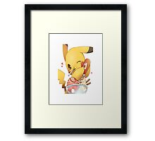 Pokemon Character Framed Print