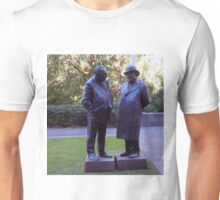 Stopped for a chat - 1 Treasury Place Melbourne Vic Australia Unisex T-Shirt