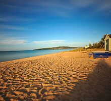 Afternoon Sun, Dromana Beach, Victoria, Australia by Chris Jones
