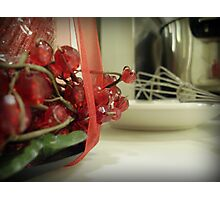 Kitchen at Christmas Photographic Print