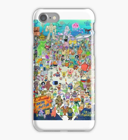 Spongebob Cast iPhone Case/Skin