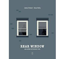 Rear Window Photographic Print