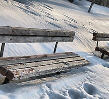Empty Benches by kenspics