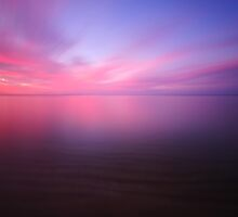 Sunset Across Dromana Beach (6 of 6), Victoria, Australia by Chris Jones