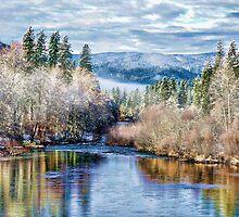 Applegate River by Jeannie Peters