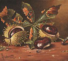 Three wild chestnut by dusanvukovic