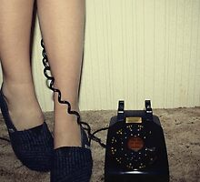 Telephone by brookexx09