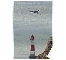 Vulcan XH558 Beachy Head Poster