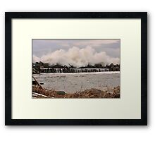 Power of the Sea Framed Print