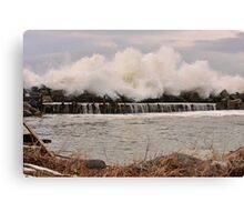 Power of the Sea Canvas Print